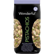 WONDERFUL Wonderful pistache poivre et sel 500g
