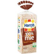 Harry's Pain de mie 100% mie complet sans huile de palme 500g