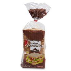 AUCHAN Pain de mie complet spécial sandwich 21 tranches 825g