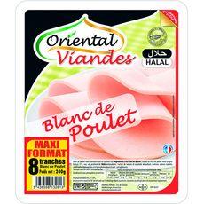 ORIENTAL Oriental blanc poulet halal 8 tranches 240g