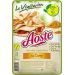 Aoste Le Végétarien au curry la barquette de 100 g