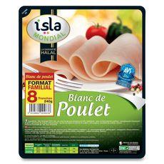 ISLA MONDIAL Isla Mondial Blanc de poulet 8 tranches-240g 8 tranches 240g