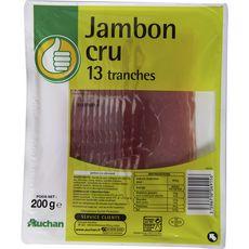 POUCE Pouce Jambon cru 13 tranches 200g 13 tranches 200g