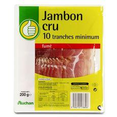 POUCE Jambon cru 10 tranches 200g