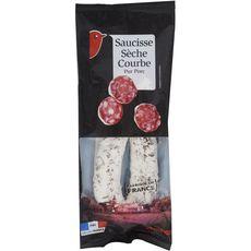 AUCHAN Saucisse sèche pur porc 250g