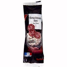 AUCHAN Saucisson sec pur Porc 250g
