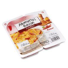 AUCHAN Auchan Allumettes de Bacon fumé 2x75g 2x75g