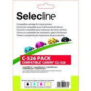 SELECLINE Cartouche 4 Couleurs C-526 PACK