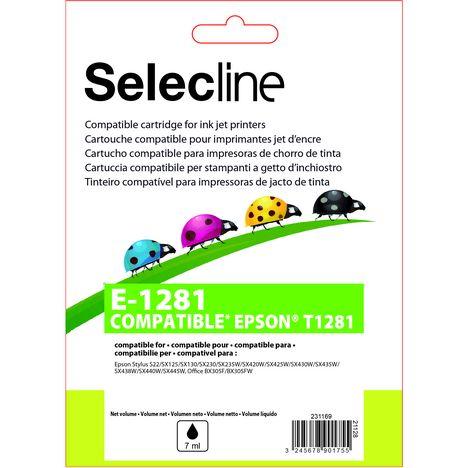 SELECLINE Cartouche Noir E-1281
