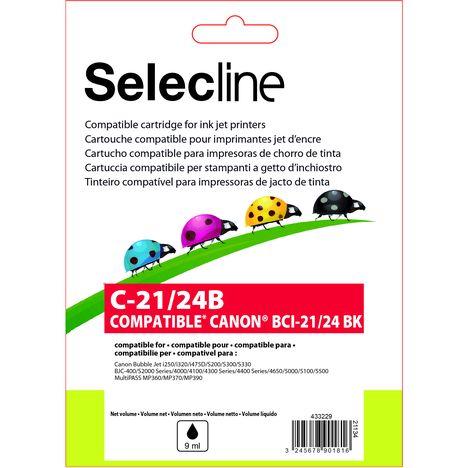 SELECLINE Cartouche Noir C-21/24B