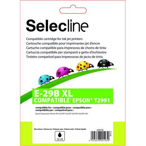 SELECLINE Cartouche Noir E-2991 XL