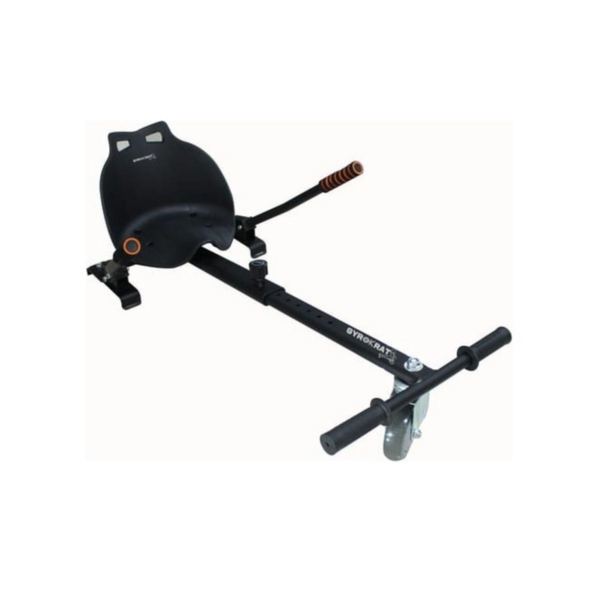 Kart pour hoverboard avec siège - Noir