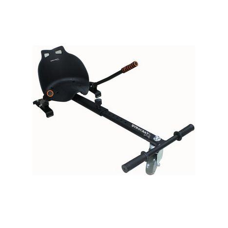 GYROBOARDER Kart pour hoverboard avec siège - Noir