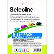 SELECLINE Cartouche 4 Couleurs H-364 PACK