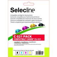 Cartouche 4 Couleurs C 521 PACK SELECLINE Pas Cher Prix Auchan