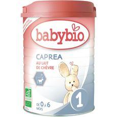 Babybio Caprea 1 lait 1er âge de chèvre  en poudre dès la naissance 900g