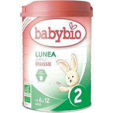 BABYBIO Babybio 2ème âge lait confort bio 900g de 6 à 12 mois