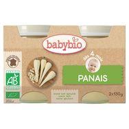 Babybio Petit pot panais bio dès 4 mois 2x130g