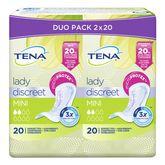 Tena Tena Lady discreet mini 2x20