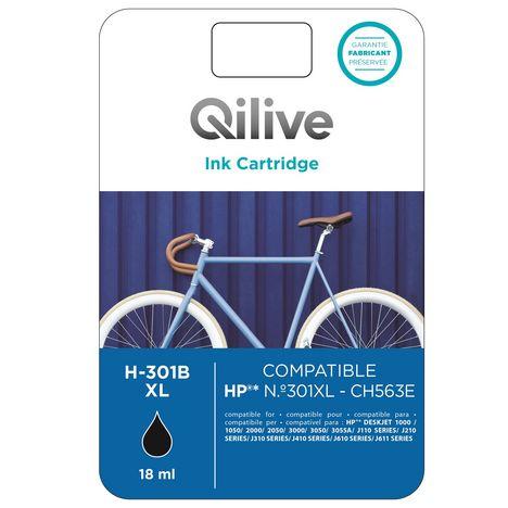 QILIVE Cartouche Noir H-301B XL