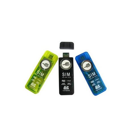QILIVE Connectiques LECR6/1 USB2.0SD/MMC