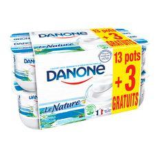 DANONE Danone ferme et nature 13x125g +3gts