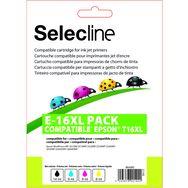 SELECLINE Cartouche Noir E-16 XL PACK