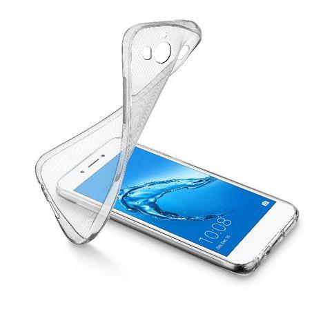 CELLULAR Coque pour Huawei Y6 - SOFTY517T - Transparent