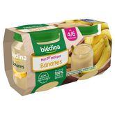 Blédina pot banane 2x130g dès 4 mois