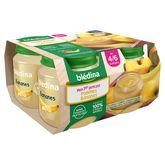 Blédina pot pommes bananes 4x130g dès 4 mois