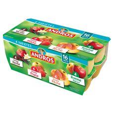ANDROS Spécialité aux fruits panaché 16x100g