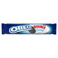 OREO Biscuit double crème rouleau 157g