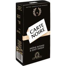 CARTE NOIRE Café moulu pur Arabica 250g