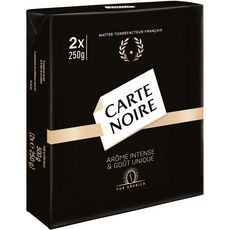CARTE NOIRE Café moulu pur arabica 2X250g