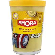 Amora moutarde douce verre TV 190g