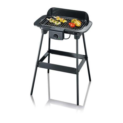 SEVERIN Gril barbecue électrique sur pied PG8542