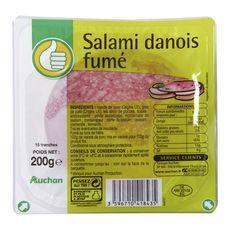 POUCE Salami Danois Fumé 15 tranches 200g