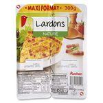 Auchan lardons natures 2x150g
