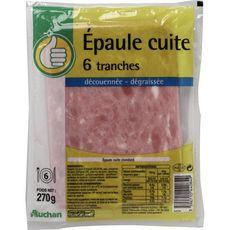 POUCE Pouce épaule cuite dégraissé découenné 6 tranches 270g