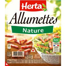 HERTA Herta allumettes nature 2x100g