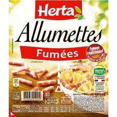 HERTA Herta allumettes fumées 2x100g