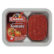 Charal haché à la tomate 2x125 g