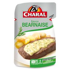 CHARAL Sauce béarnaise 2 personnes 120g