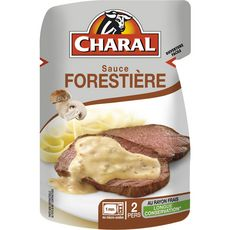 Charal Sauce forestière 120g