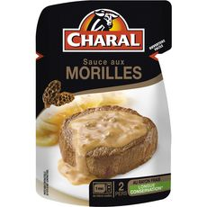 Charal Sauce aux morilles 120g