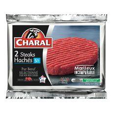 Charal steak haché 5%mg 2x130g