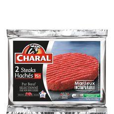 Charal steak haché 15%mg 2x130g