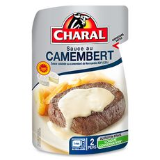 Charal Sauce camembert 120g