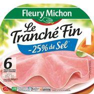 Fleury Michon jambon 6 tranches fines 180g