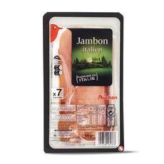 Auchan Jambon italien 7 tranches 100g